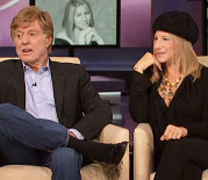 Streisand and Redford Reunite on 'Oprah'