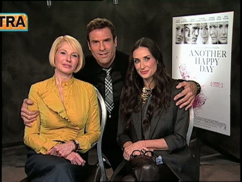 'Extra' Raw! 'Another Happy Day' with Demi Moore and Ellen Barkin