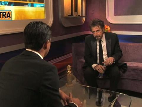 Al Pacino on Globe Win: 'You Get Kind of Nervous'