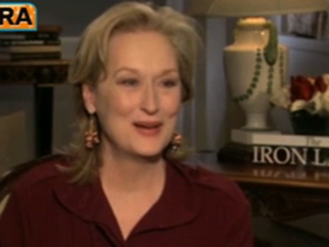 Meryl Streep on Playing 'The Iron Lady': 'Working Women Will Understand'