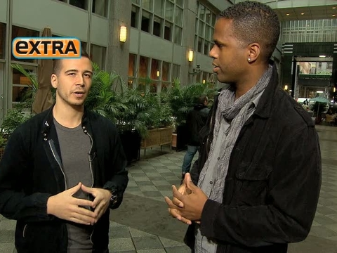 'Extra' Raw! With 'Jersey Shore' Star Vinny Guadagnino
