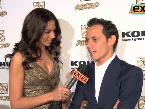'Extra' Raw! Marc Anthony Honored at the ASCAP Latin Music Awards