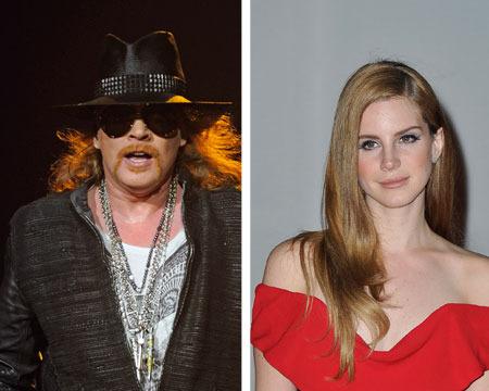 Is Axl Rose Dating Lana Del Rey?