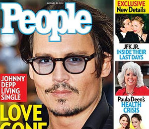 People: Johnny Depp and Vanessa Paradis Have Split