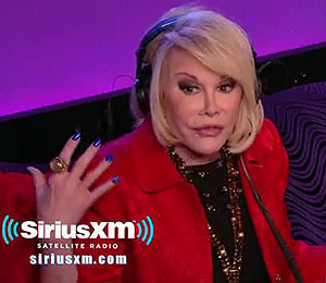 Video! Chelsea Handler vs. Joan Rivers on Howard Stern