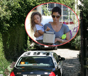 Extra Scoop: Police Visit Halle Berry's Home over Aubry Abuse Allegations
