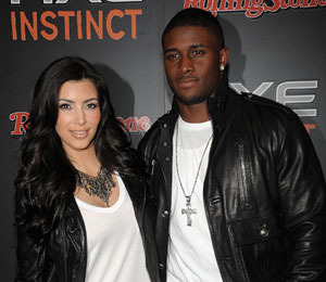 Kim Kardashian and Ex-Boyfriend Reggie Bush on Lunch Date