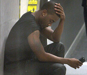 Ray J Breaks Down at LAX