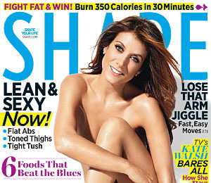Kate Walsh Bares All on Shape Cover