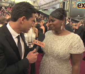 'Extra' Raw! 'The Help' Stars at the 2012 Oscars