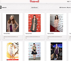 Celeb Fashionistas on Pinterest: Rooney Mara