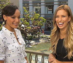 'Extra' Raw! Selita Ebanks Talks 'Booty Cleavage' at The Grove