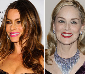 Sofia Vergara and Sharon Stone to Play Lovers in New Comedy