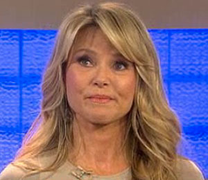 Video! Christie Brinkley on the Brink! Weeps on 'Today' Show