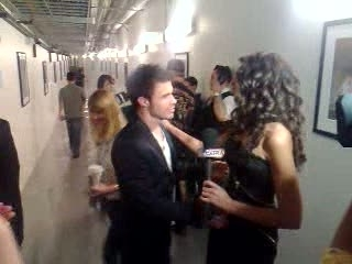 Winner Kris Allen Backstage at Idol Finale!