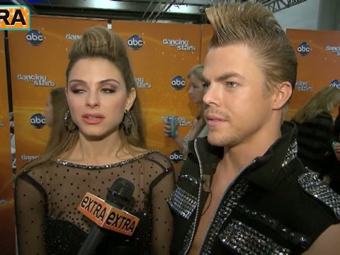 'DWTS' Results: Backstage with the Contestants