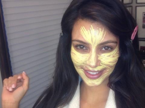 Pic! Kim Kardashian: Before and after Makeup