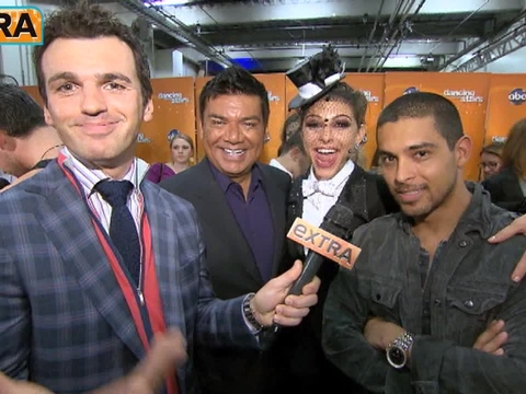 'DWTS': Maria Menounos' Friends Cheer Her on to a Perfect 30