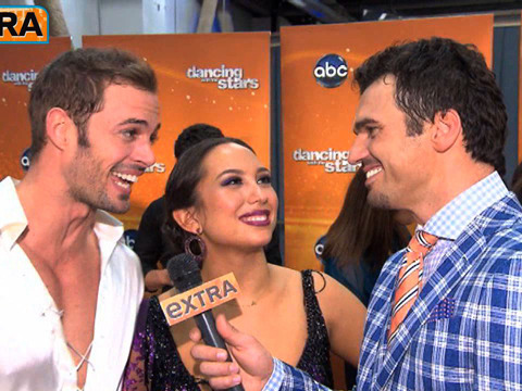 'DWTS' Backstage: William Levy on His Perfect Foxtrot