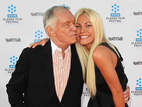 Hugh Hefner and Runaway Bride Crystal Harris Back Together