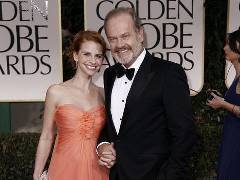 Kelsey Grammer Marries Pregnant Wife -- Again!