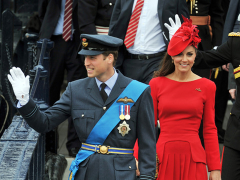 Prince William and Kate Middleton attend Queen Elizabeth II's Diamond Jubilee…