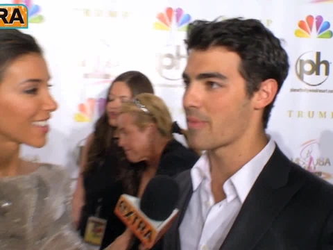 Joe Jonas and More at the Miss USA Competition