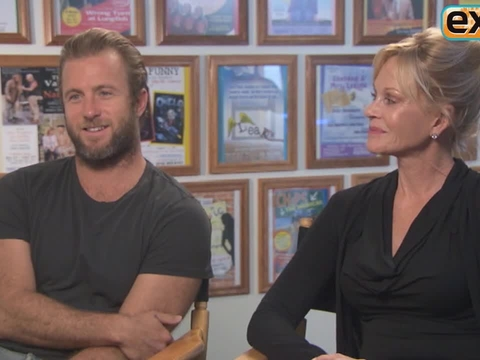 At The Grove! Rapid-Fire Quiz with Melanie Griffith and Scott Caan