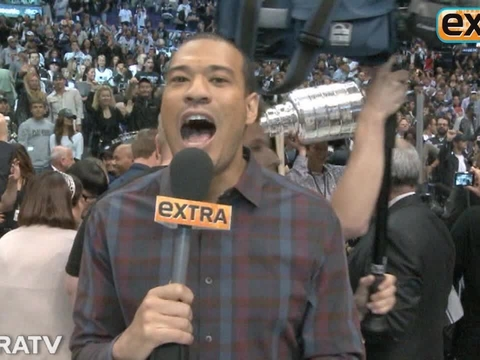 'Extra' Raw! Stars Celebrate L.A. Kings Stanley Cup Win
