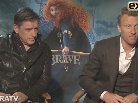 'Extra' Raw! Meet the Cast of 'Brave'