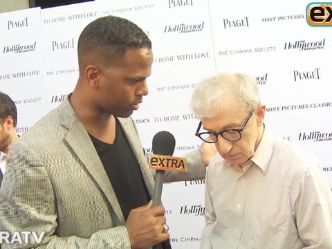 Woody Allen Talks Mystery Meeting with Lindsay Lohan