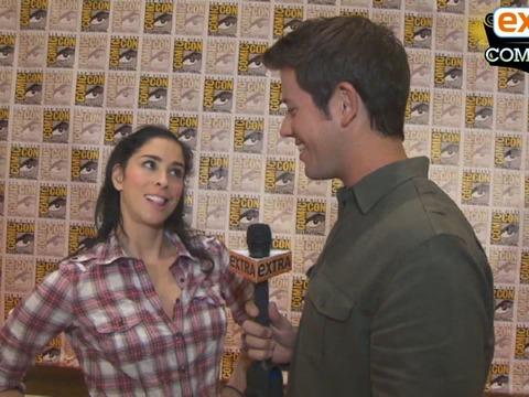 'Extra at Comic-Con': Tim Burton on 'Frankenweenie,' Sarah Silverman on…