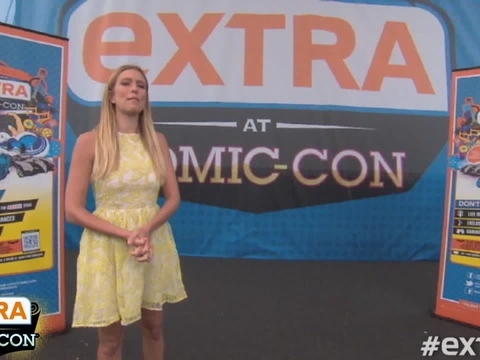 'Extra at Comic-Con': The Evil Neighbors at '666 Park Avenue'