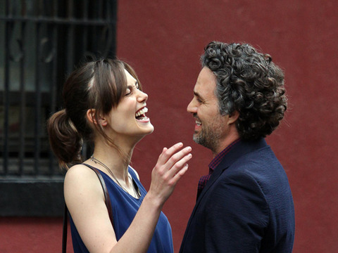 "Keira Knightley and Mark Ruffalo shared a laugh in Manhattan on the set of ""Can…"