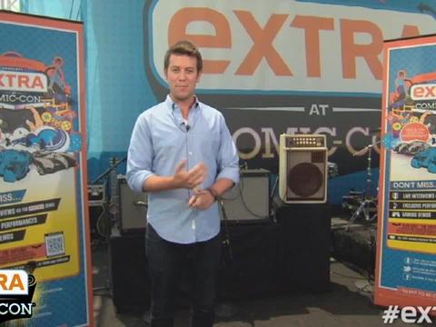 Extra at Comic-Con: 'Shameless' Star Emmy Rossum