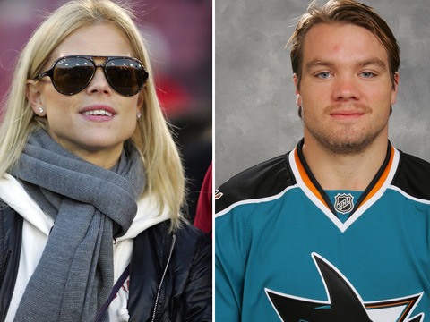 Who is tigers ex dating nhl player