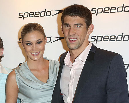 Michael Phelps' Hot Girlfriend Has Celeb-Chasing History