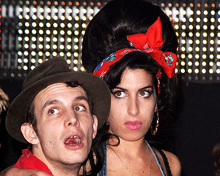 Amy Winehouse's Ex in Coma after Binge