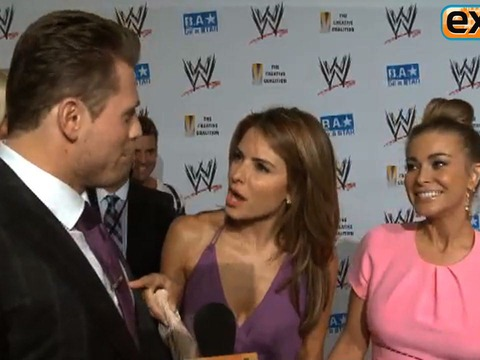 Video! The Miz Talks Smack with Maria