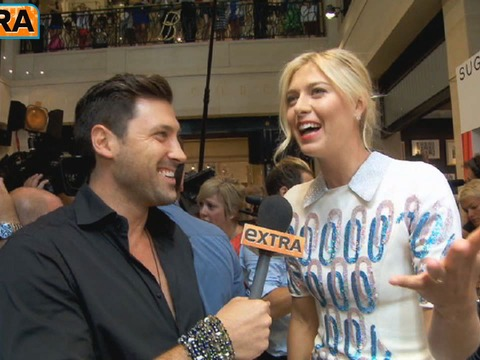 Maria Sharapova Takes 'Extra's' Rapid-Fire Quiz