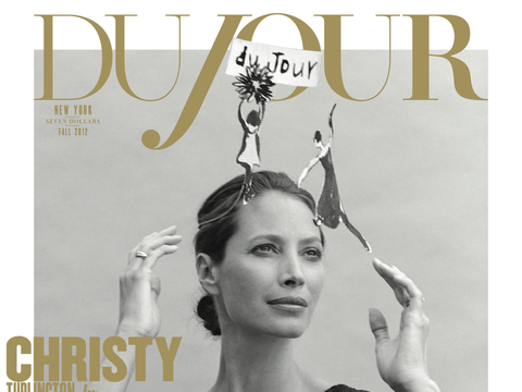 Pic! Christy Turlington and Daughter Pose for DuJour
