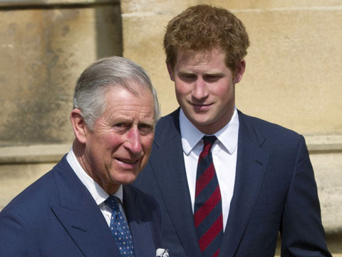 Prince Charles Advises Harry -- Get Out of Town