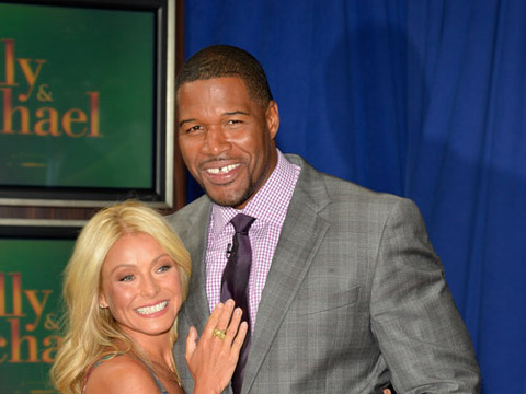 Kelly Ripa on Michael Strahan: 'Daddy's Home'