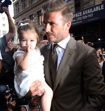 David Beckham Says Fifth Baby Would Be 'Great'