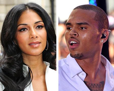 Nicole Scherzinger Locking Lips with Chris Brown?