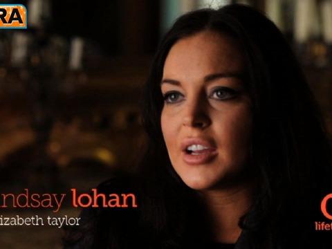Lindsay Lohan on Liz Taylor: 'I Personally Understand Liz'
