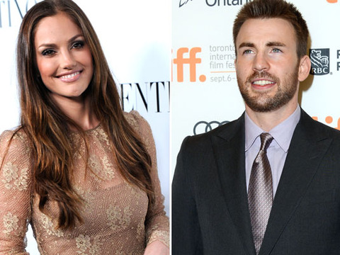 Minka Kelly and Chris Evans Caught Kissing