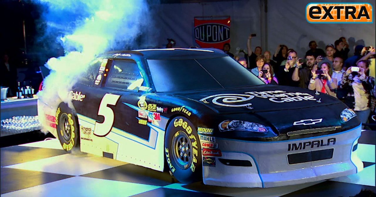 NASCAR Star and 'Ace of Cakes' Designer Unveil Matching ...