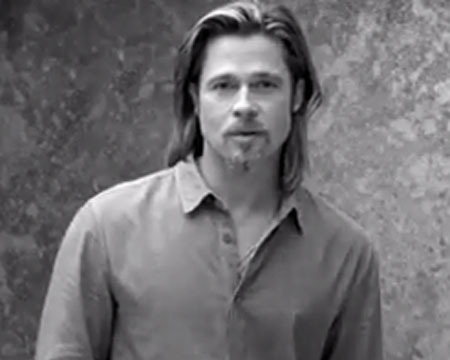 Brad Pitt's Chanel No. 5 Commercial Spoofed on 'Saturday Night Live'