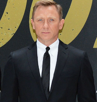 """Daniel Craig attended the """"Skyfall"""" cast photo call at Crosby Street Hotel in…"""
